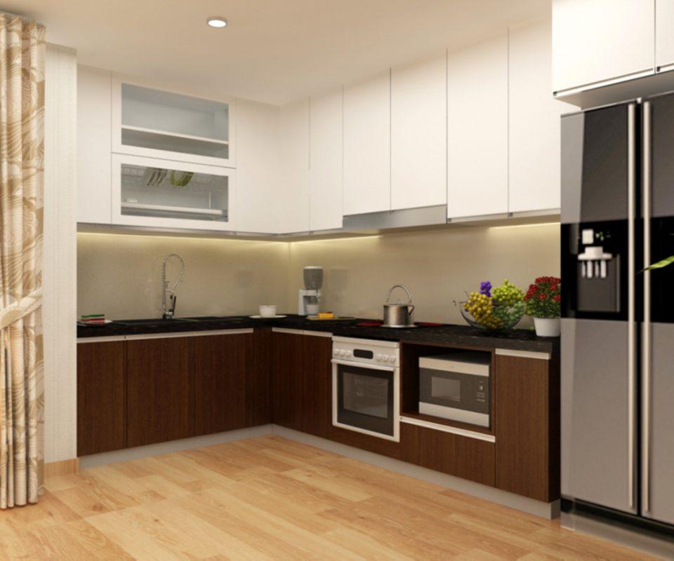 Không nên làm tủ bếp 100% bằng gỗ nhựa - Nội thất Thu Anh